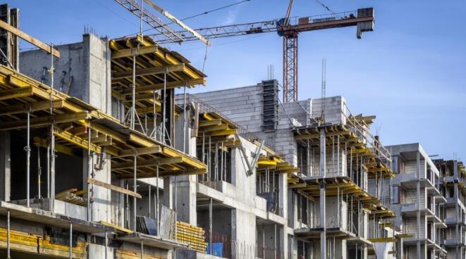 建筑活动强劲反弹的迹象