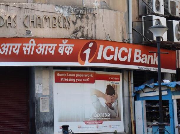 由于拨备大幅下降 ICICI银行的第一季度净额飙升78%至461.6亿卢比